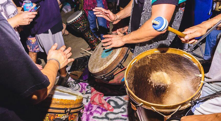 Moksha Sunset Drum Session